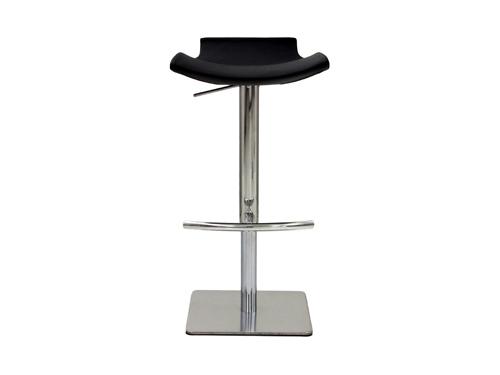 カウンターチェア バーチェア PU ダイニングチェア おしゃれ 椅子 イス キッチン ダイニング ブラック 幅46cm クラスティーナ 3年保証 チェア 椅子 いす 高さ調整 モダン 北欧 家具 インテリア カフェ風