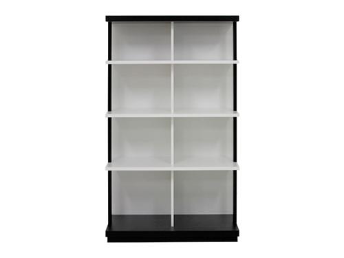 ファッションデザイナー ブックシェルフ 幅85cm 高さ150cm 収納 本棚 棚板固定, 高座郡 97885156