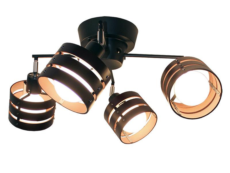 スポットシーリングライト『LOTUS-R』 4灯 クラスティーナ