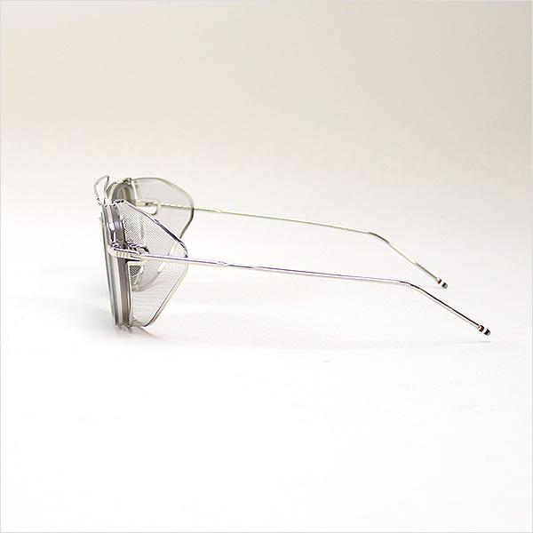 5101ae4c4f2 THOM BROWNE Tom Browne 16aw TB-808-B-GRY-SLV-51 sunglasses silver 51 □  21-148