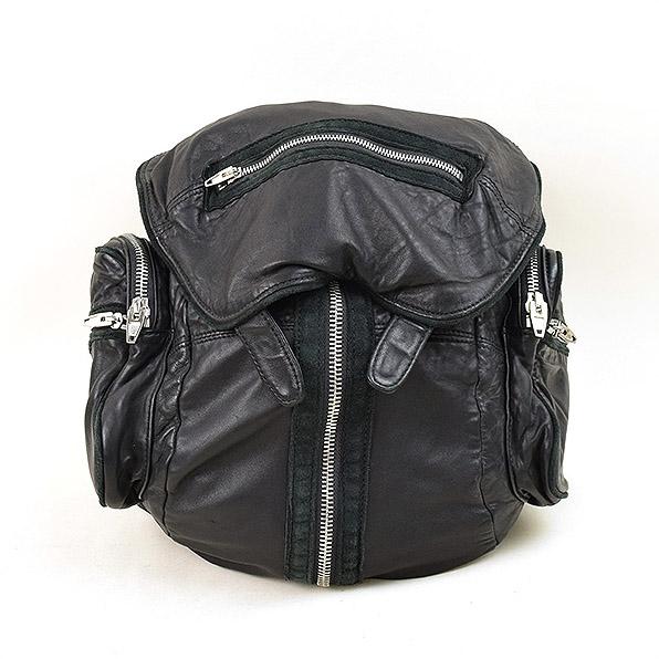 ALEXANDER WANG アレキサンダーワン Marti leather Backpack マルチレザーバックパック ブラック 【中古】