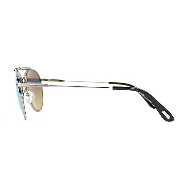 57a2b8f239 TOM FORD Tom Ford COLIN teardrop sunglasses TF338 brand blue X silver 54 □ 16  140