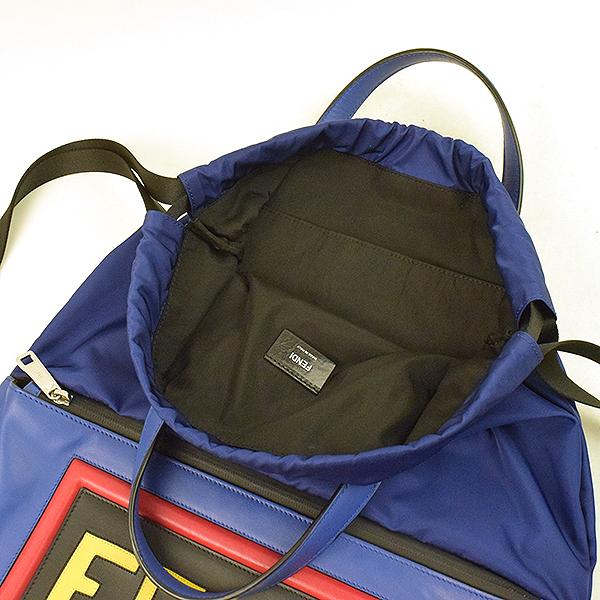 6afda5fd85cf MODESCAPE Rakuten Ichiba Shop  FENDI Fendi leather logo nylon ...