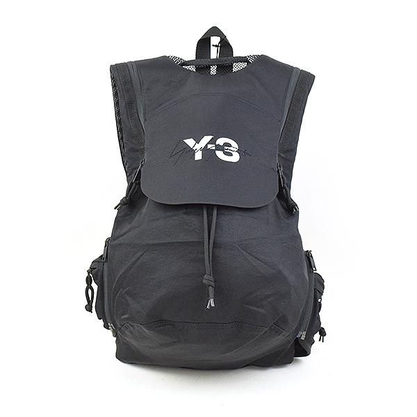 1e2ea0842c MODESCAPE Rakuten Ichiba Shop  Backpack rucksack brand black with Y-3 Weiss  Lee 18AW RUNNING signature logo hips strap