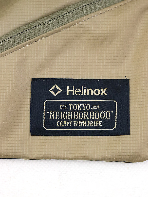 NEIGHBORHOOD ネイバーフッド ×Helinox 18SS NHHX BAR N MUSETTE BAG ショルダーバッグ カーキtQhrsd