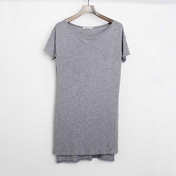 970358aaa6 MODESCAPE Rakuten Ichiba Shop  □ T by Alexander Wang Pocket rayon dress  gray size  XS □ b