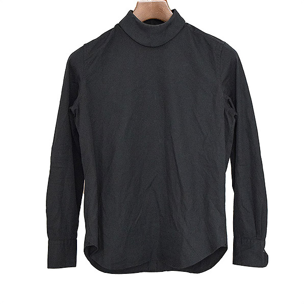 HYKE ハイク 14SS プルオーバーブロードシャツ ブラック 1【中古】