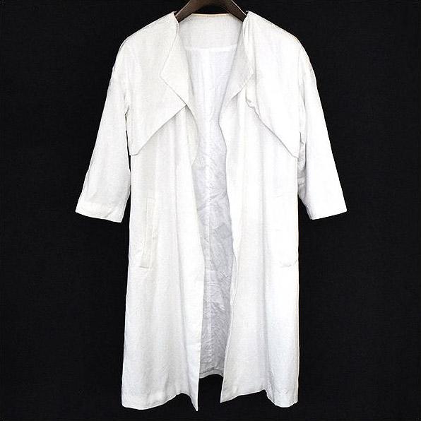 FFIXXED STUDIOS フィックススタジオ SOPHIA COAT ショートスリーブコート ホワイト XS【中古】