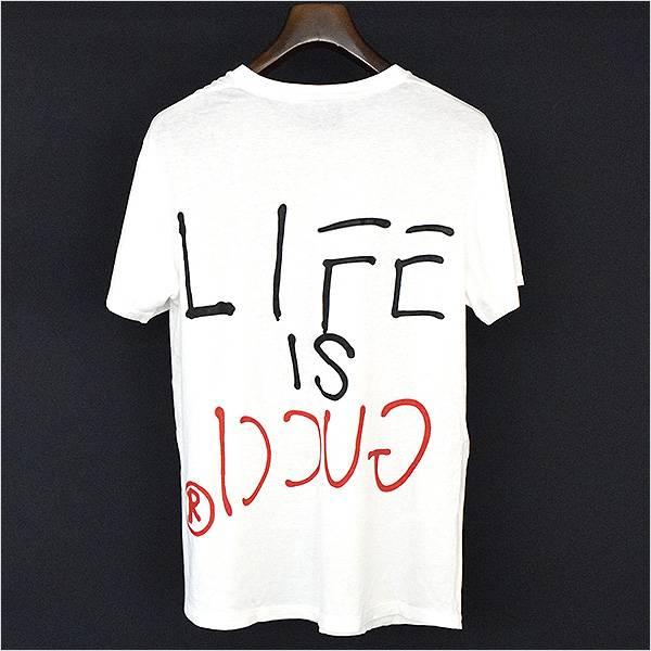 e3c009fb MODESCAPE Rakuten Ichiba Shop: GUCCI Gucci 17ss Life Is Gucci print ...