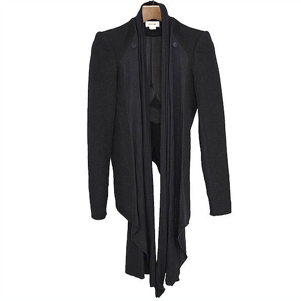 【中古】HELMUT LANG ヘルムート ラング デザインウールジャケット レディース ブラック 2