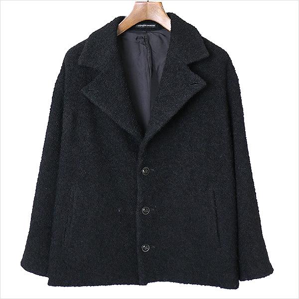 【中古】Y's ワイズ ピリング加工ウールジャケット レディース ブラック 2