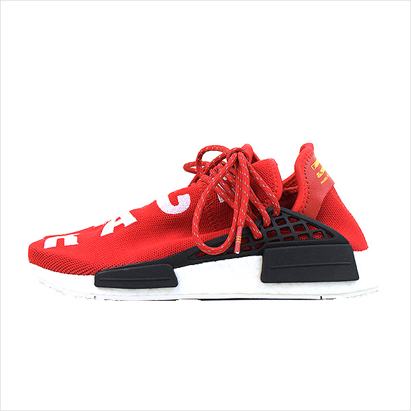 0036aeffa8460 ADIDAS BY PHARRELL WILLIAMS Adidas by Farrell Williams PW Human Race NMD  sneakers Lady s red 23.5cm