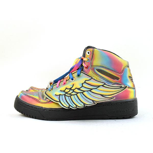 3fe9636a1ac494 ... adidas Originals by JEREMY SCOTT Adidas originals by Jeremy Scot METRO  ATTITUDE JS WINGS RAINBOW mixture ...