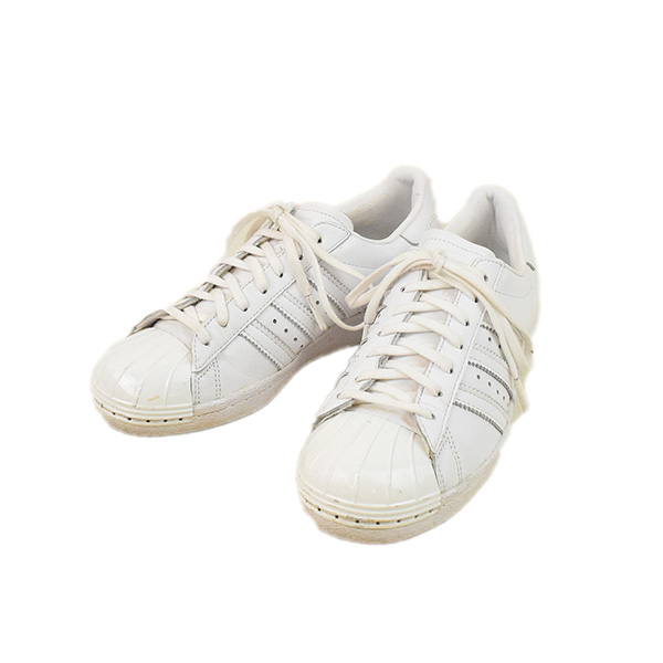 adidas Adidas SUPERSTAR 80S METAL TOE superstar sneakers Lady s white 23cm f7b2fe490f
