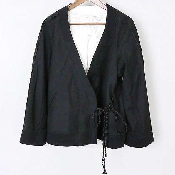 【中古】CHRISTIAN DADA クリスチャンダダ 17AW ナース刺繍スーベニアジャケット レディース ブラック 34