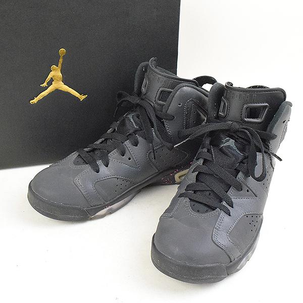 27ba0bd2912 MODESCAPE Rakuten Ichiba Shop: NIKE Nike AIR JORDAN 6 RETRO GG sneakers  543390 008 23.5cm Lady's black 23.5cm | Rakuten Global Market