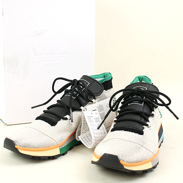nouveau style a48b6 b3c31 adidas Originals by Alexander Wang Adidas originals by Alexander one AW RUN  MID sneakers Lady's gray 22.5cm