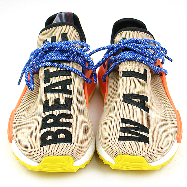 ADIDAS BY PHARRELL WILLIAMS Adidas by Farrell Williams PW HUMAN RACE NMD TR sneakers beige 23.5cm Lady's