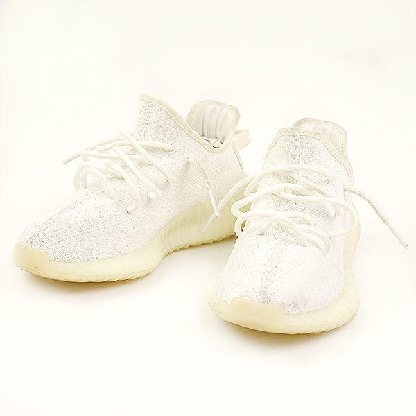 cheaper 78398 c7e5a adidas Adidas YEEZY BOOST 350 V2 TRIPLE WHITE sneakers white 24cm Lady's