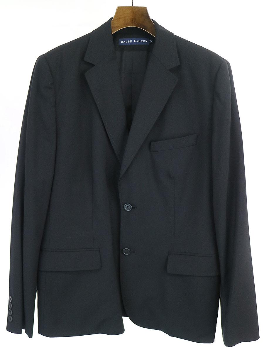 中古 人気海外一番 RALPH LAUREN ラルフローレン ブラック レディース 2Bセットアップスーツ 大規模セール 7