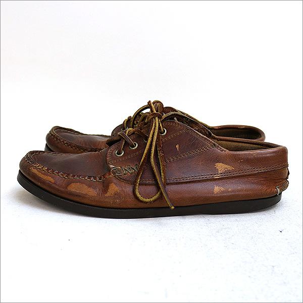 YUKETEN yuketen 钓鱼 MOC 皮革鞋棕色尺寸未表記 (26 厘米-26.5 厘米) 05P01Oct16