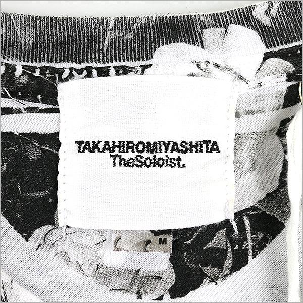 TAKAHIRO MIYASHITA The SoloIst. takahiromiyashitazasoroisuto 16SS Negative Feedback印刷T恤白M