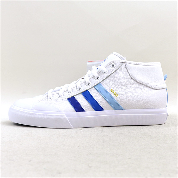 adidas愛迪達MATCHCOURT MID ADV NA-KEL SMITH運動鞋白29cm