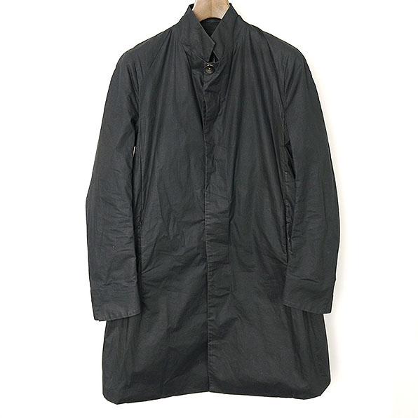 YOHAN SERFATY ヨハン セルファティ 14SSスタンドカラーコート ブラック 46【中古】