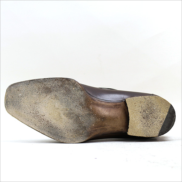 RICCARDO FRECCIA BESTETTI rikkarudofuretchabesutettirezatasserurofaburaun 4(24~24.5cm左右的穿用感觉)