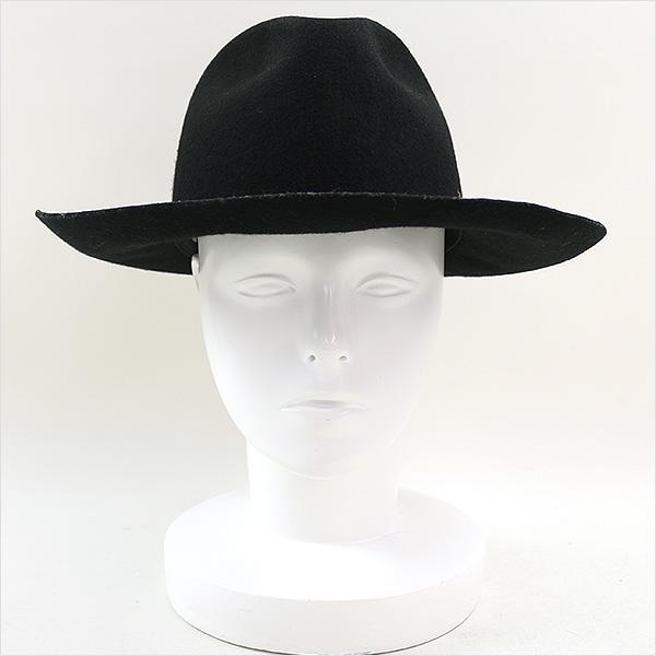 C'est Vingt-Trois sebantua刺绣中的去羊毛帽子黑色58cm
