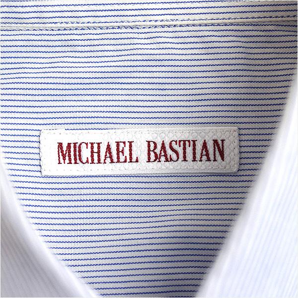 MICHAEL BASTIAN邁克爾巴斯琴轉換橫條紋B.D襯衫薩克斯38