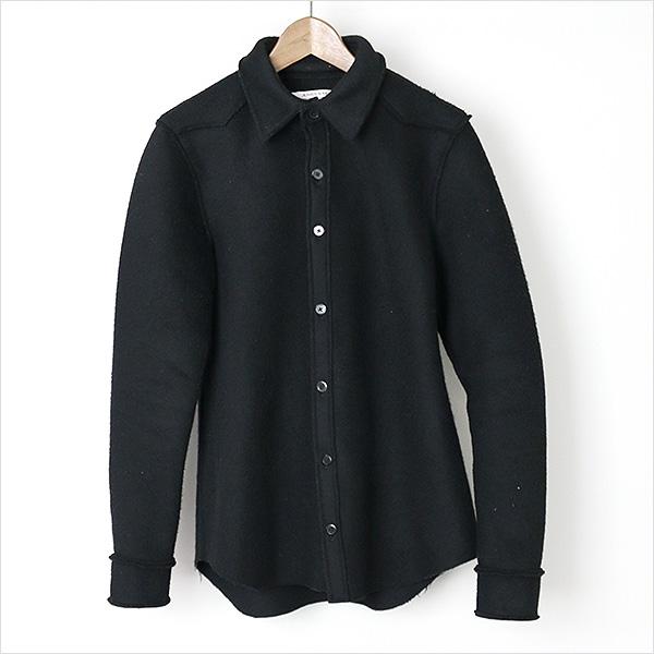 ANSNAM ansunamu 15AW DF TOKYO注释切断西部CPO衬衫黑色2