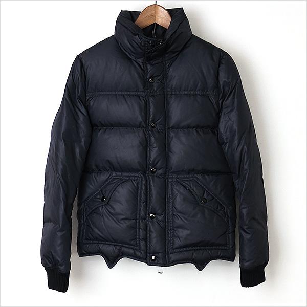 Dior HOMME ディオールオム 06AW マットコーティングダウンジャケット ブラック 44【中古】