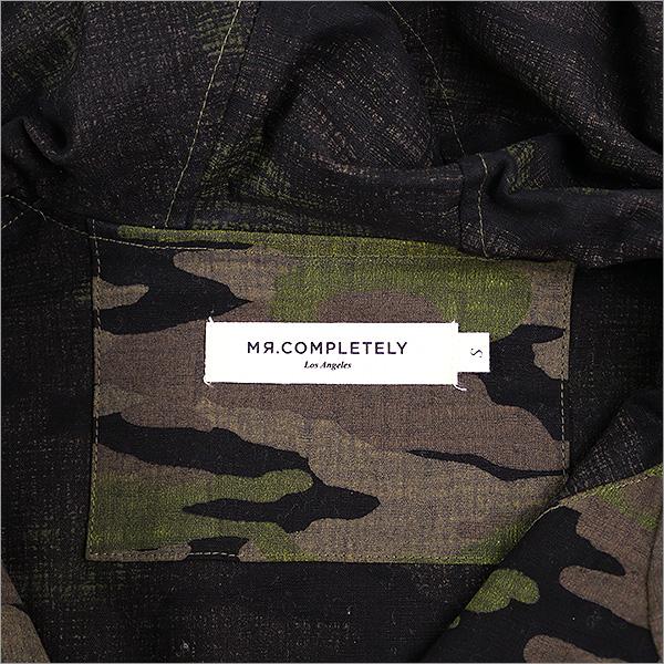 MR.COMPLETELY misutakompuritori 16AW HALF-ZIP ANORAK套衫Parker黄褐色S