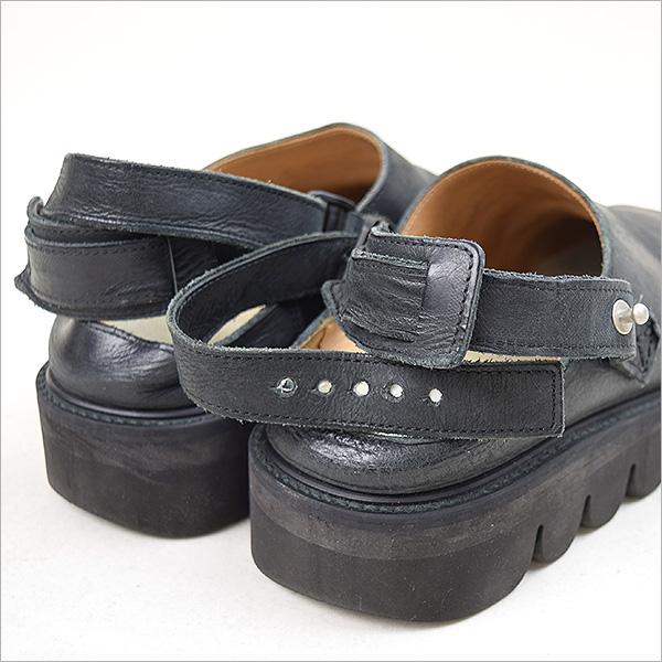 Hender Scheme ender schema ZOOK leather sandals black 4 (approximately 26-26.5cm)