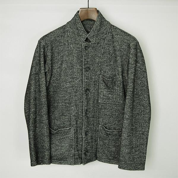 Engineered Garments エンジニアドガーメンツ ヘリンボーンウールツイードジャケット グレー XS【中古】