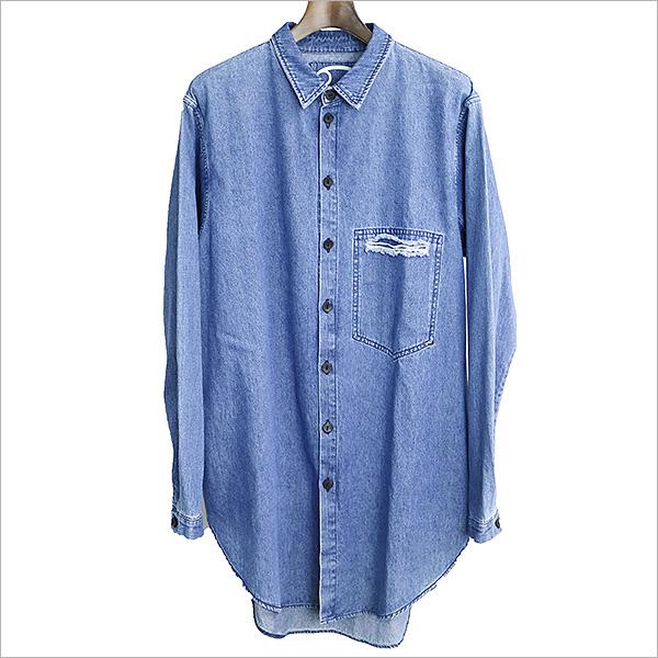 69 sixty nine シックスティーナイン オーバサイズドボタンアップデニムシャツ インディゴ XL【中古】