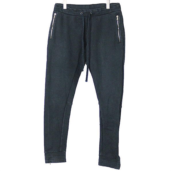 junhashimoto ジュンハシモト SUM SWEAT PANTS スウェットパンツ ブラック 4【中古】