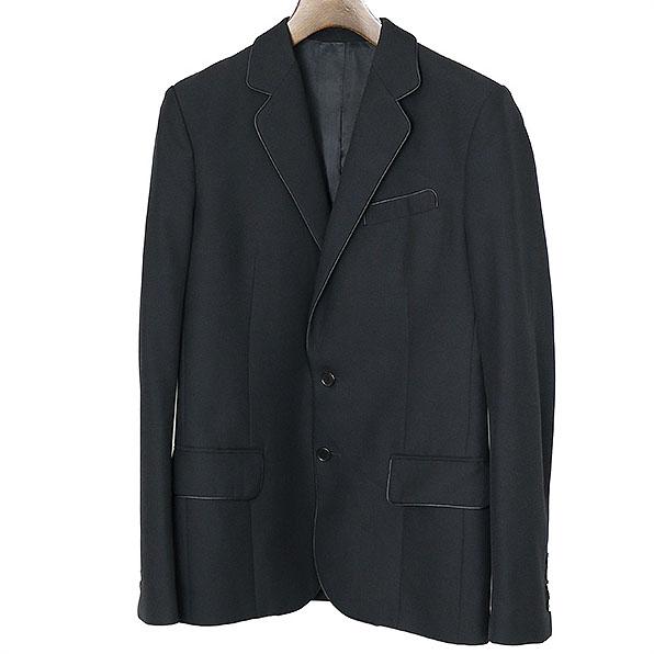 BALENCIAGA バレンシアガ 2Bテーラードジャケット ブラック 46【中古】