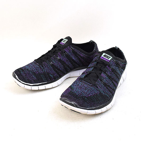 finest selection 828d3 d8291 NIKE Nike FREE FLYKNIT NSW 599,459-003 sneakers black 27.5cm