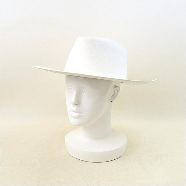 【中古】OFF-WHITE オフホワイト ハット メンズ ホワイト