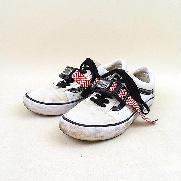 3434607d74 vellbeck bell Beck VANS old skool remake reflector belt sneakers white 26.5 cm