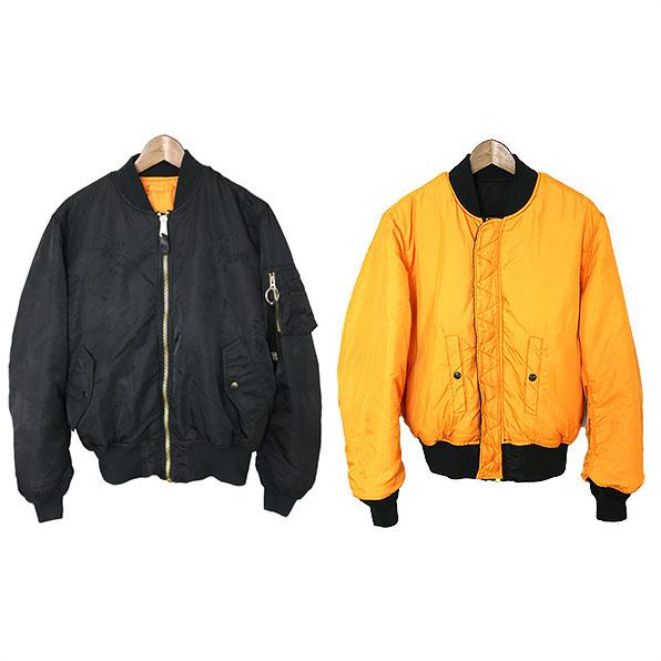 4beac8ff8 ALYX Alix X ALPHA INDUSTRIES/16AW NATURAL ORDER MA-1 FLIGHT BOMBER JACKET  flight jacket black M