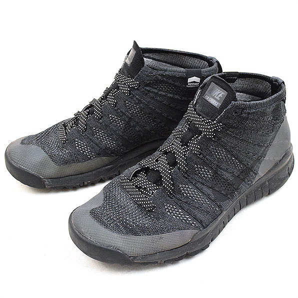 buy popular 8de74 3a73d NIKE Nike FLYKNIT TRAINER CHUKKA SNEAKERBOOT black 28cm ...