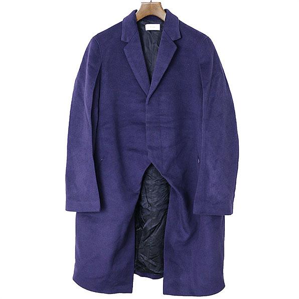 Sise シセ 14AW メルトンウール羽織コート ネイビー 1【中古】