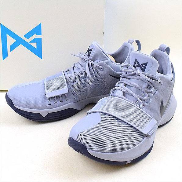 buy online 9224e 741cb NIKE Nike PG1 EP GLACIER GREY sneakers purple 31cm
