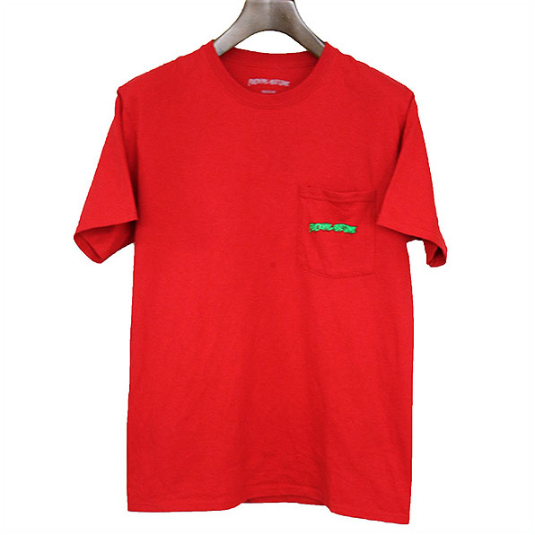 FUCKING AWESOME ファッキンオーサム BOB & STEVE TEE Tシャツ レッド M