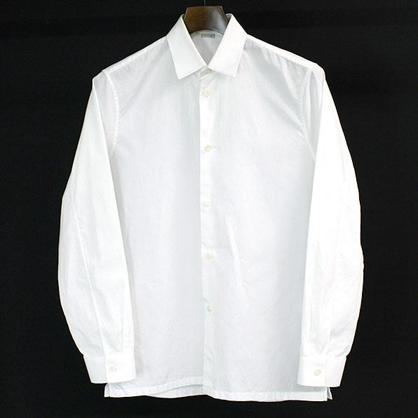 【中古】BALENCIAGA バレンシアガ 15AW レギュラーカラーシャツ メンズ ホワイト 37