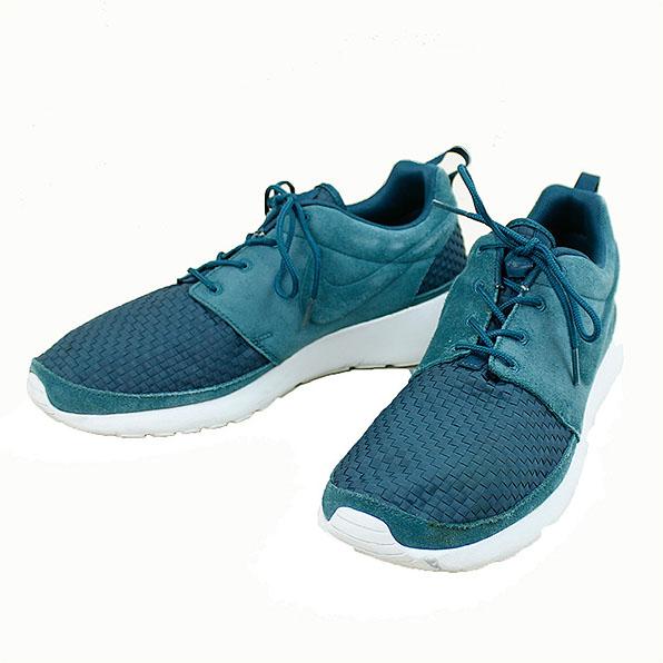 huge discount deb12 a8171 NIKE Nike ROSHE RUN WOVEN sneakers men low-frequency cut green 28.5cm