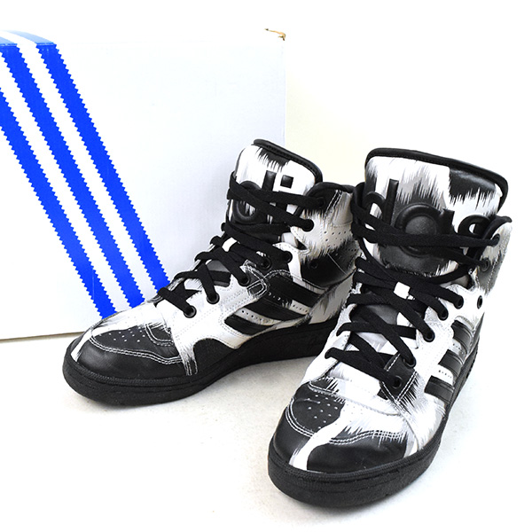 849fe0efd06b03 adidas Originals by JEREMY SCOTT Adidas originals by Jeremy Scot JS  INSTINCT HI G LEO S77806 レオパード pattern higher frequency elimination sneakers  men ...